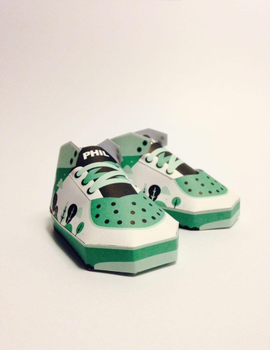 phil toys origami paper art sneakers nike shoes paperair 8 - PaperAir, des paires de sneakers en version papier