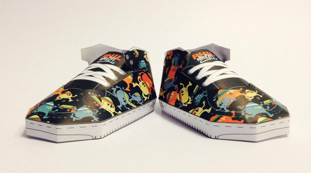 PaperAir, des paires de sneakers en version papier