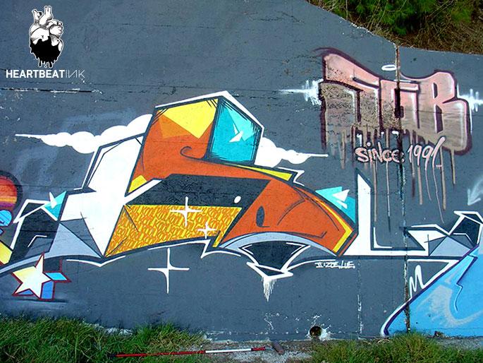 Koolk by Live2 Thessalonikiweb - Ces cinq artistes explosent les barrières entre graffiti et tatouage…