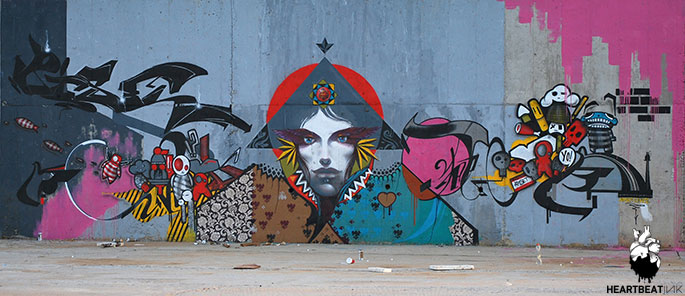 Live2Apset Thessalonkiweb - Ces cinq artistes explosent les barrières entre graffiti et tatouage…