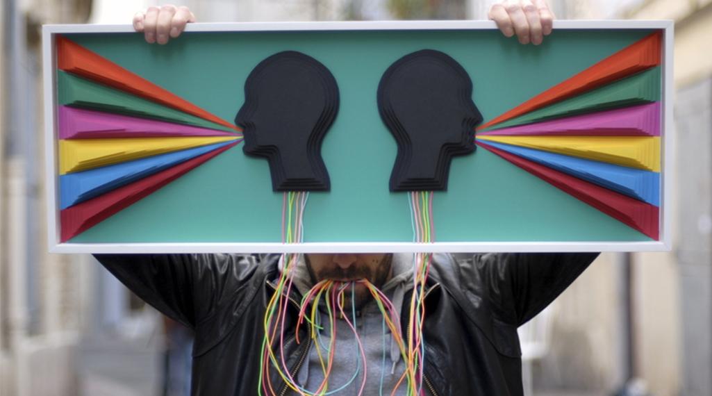 Antoine Casals, le magicien de la sculptureen papier