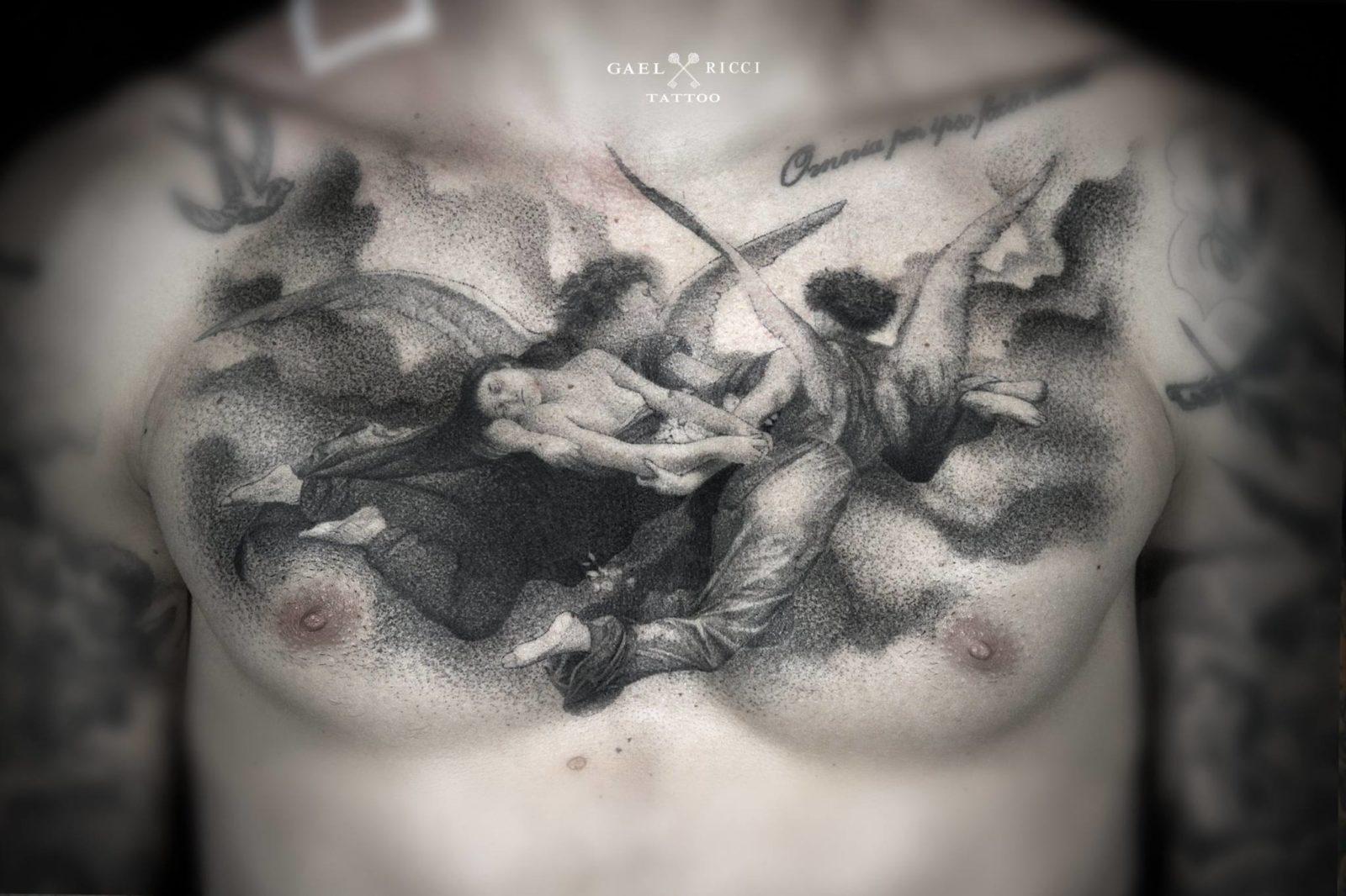 gael ricci 1 streetartistes tatoueurs tatouage arturbain radar top5 allurbanmakers - Ces cinq artistes explosent les barrières entre graffiti et tatouage…