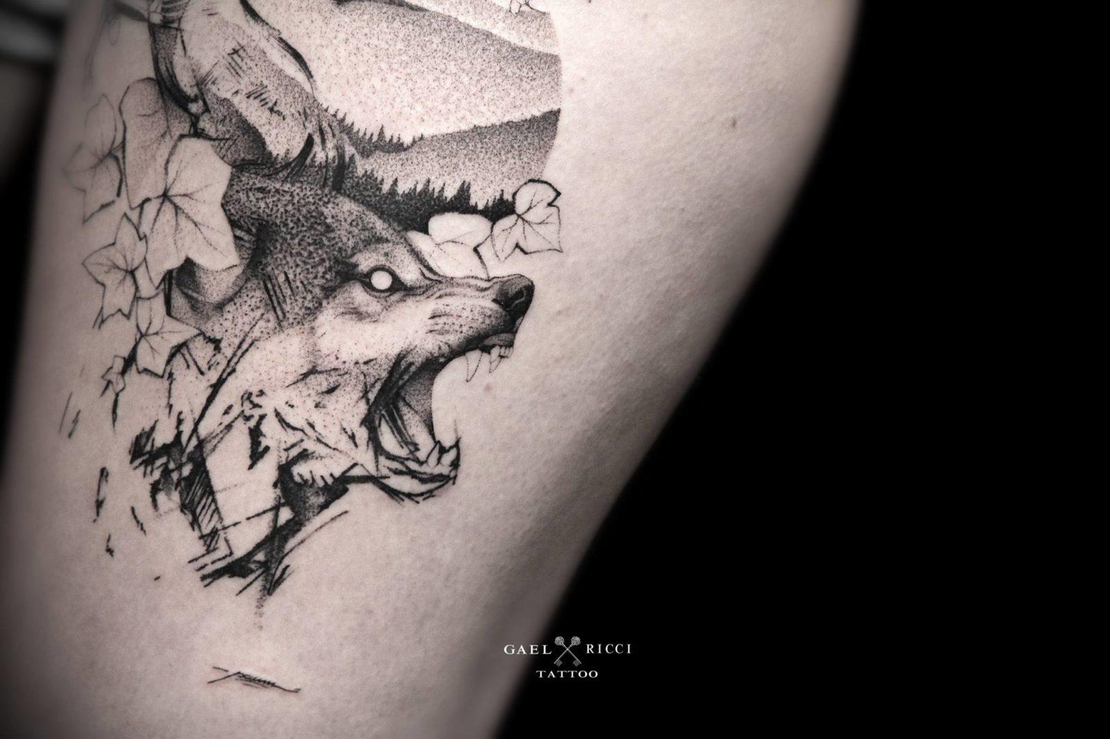 gael ricci 2 streetartistes tatoueurs tatouage arturbain radar top5 allurbanmakers - Ces cinq artistes explosent les barrières entre graffiti et tatouage…