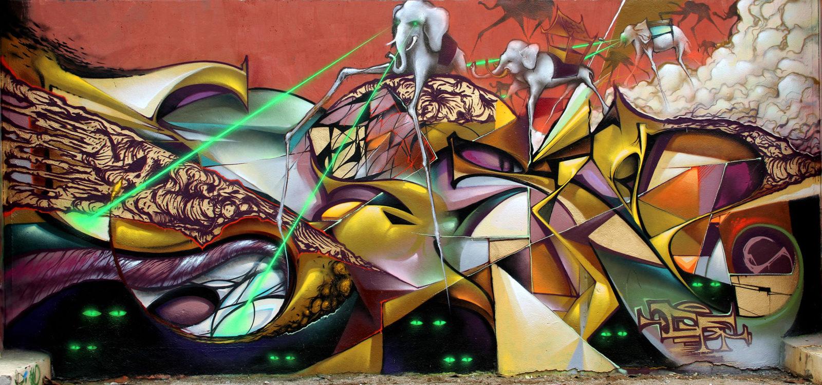 gaelricci paum sarin graffiti tatoueurs tatouage arturbain radar top5 allurbanmakers murale - Ces cinq artistes explosent les barrières entre graffiti et tatouage…