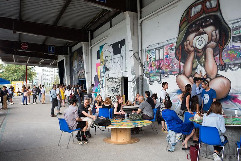 L a rosol le qg parisien des cultures urbaines radar all urban makers - Expo street art paris ...