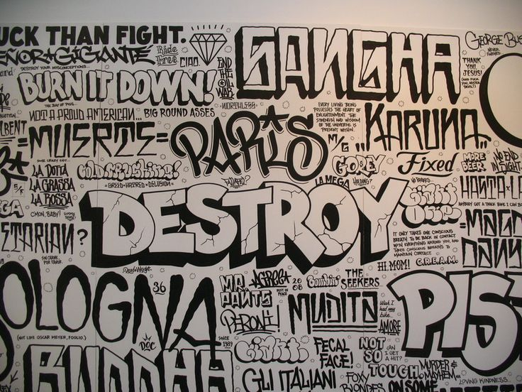 mikegiant typography mikegiant flop streetartistes tatoueurs tatouage arturbain radar top5 allurbanmakers graffitti - Ces cinq artistes explosent les barrières entre graffiti et tatouage…