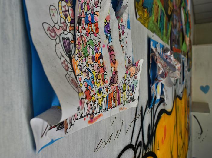 rentre ecole lieuxabandonnes urbex explorationurbaine graffiti maternelle marceau radar allurbanmakers glauqueland fresque - De la maternelle à la fac, découvrez les plus belles écoles abandonnées !