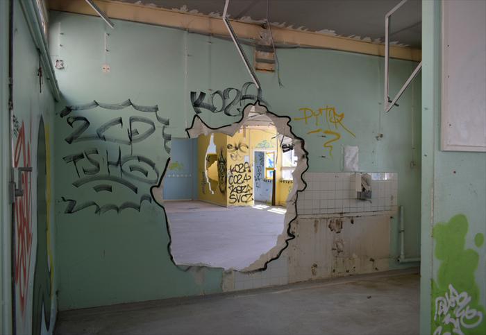 rentre ecole lieuxabandonnes urbex explorationurbaine graffiti maternelle marceau radar allurbanmakers glauqueland trou - De la maternelle à la fac, découvrez les plus belles écoles abandonnées !