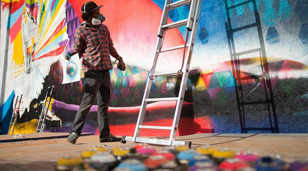 Street Art Museum, le temple russe des arts urbains