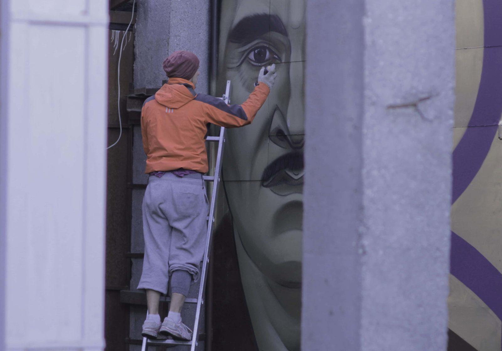 street art museum saint petersburg russie art urbain musee artiste - Street Art Museum, le temple russe des arts urbains