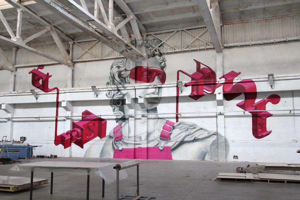 street art museum saint petersburg russie art urbain musee collection - Street Art Museum, le temple russe des arts urbains