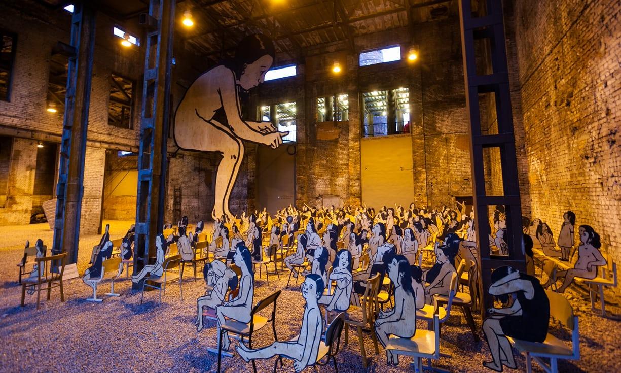 street art museum saint petersburg russie art urbain musee installation - Street Art Museum, le temple russe des arts urbains