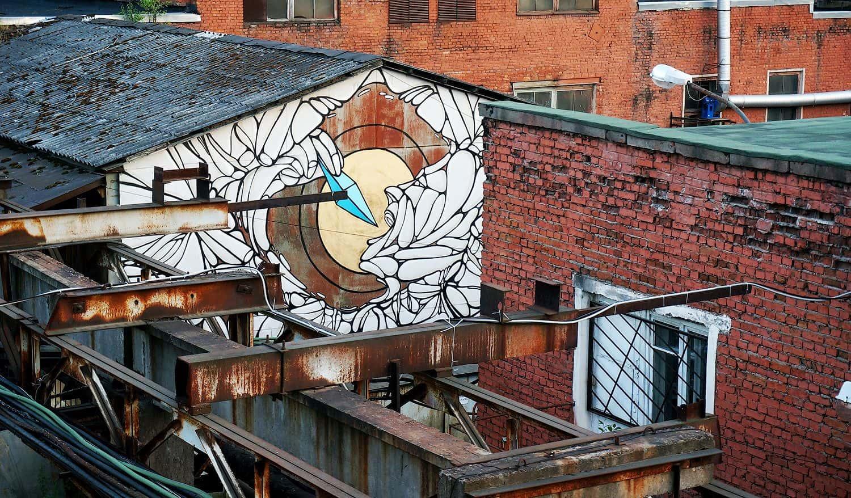 street art museum saint petersburg russie art urbain musee usine - Street Art Museum, le temple russe des arts urbains
