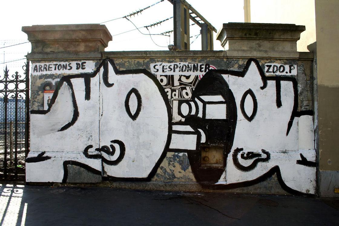 zoo project bilal berreni street art paris 3 - Coup de pouce RADAR x Ulule : Hommage à Zoo project