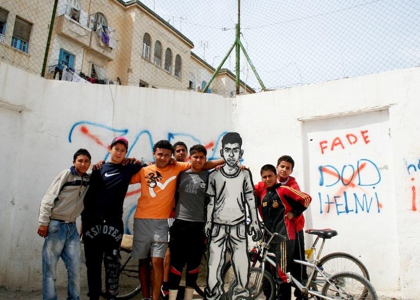 zooproject hommage bilalberreni streetart ulule radar revolte tunisie graffiti veloemilienbernard - Coup de pouce RADAR x Ulule : Hommage à Zoo project