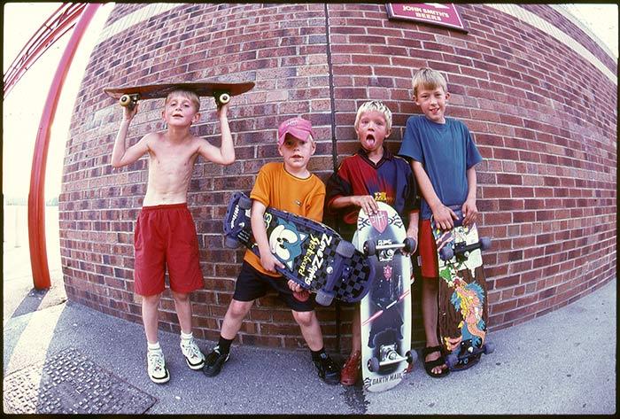 Sam Ashley, le photographe qui immortalise la culture skate depuis 15 ans