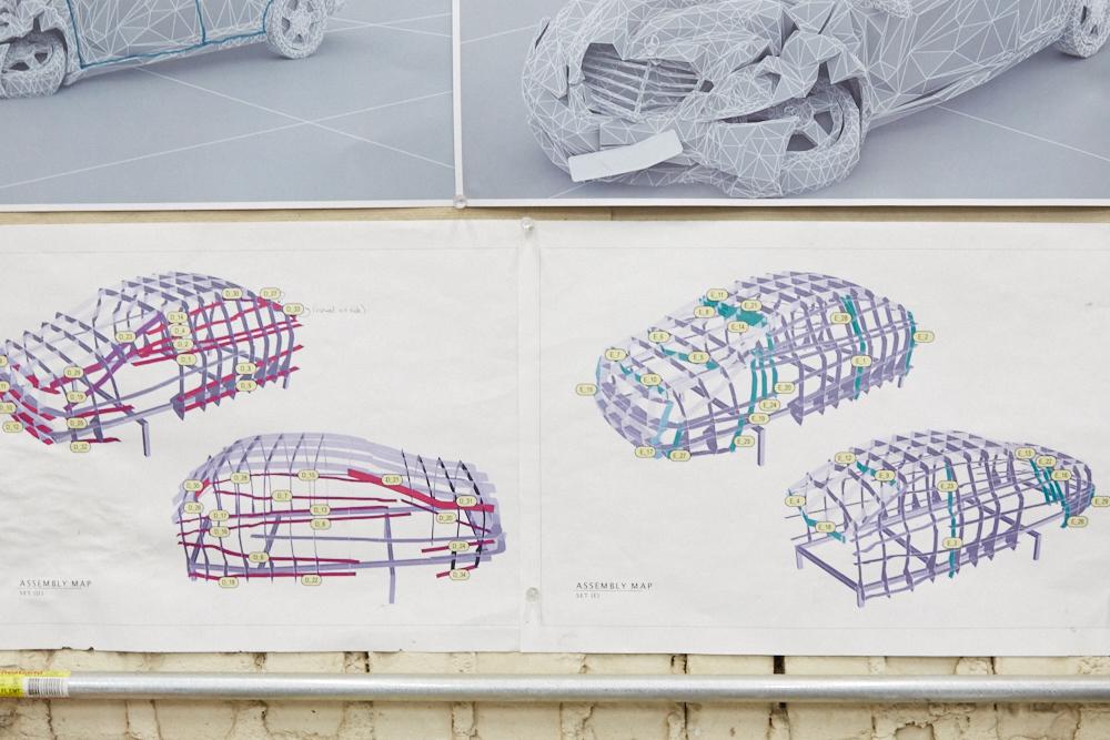 griska atelier wreck sculpture wreck numerique - Jordan Griska, le sculpteur à l'univers miroitant
