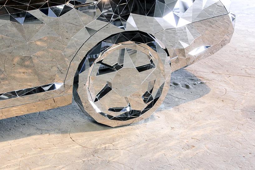 jordan griska wreck sculpture wreck - Jordan Griska, le sculpteur à l'univers miroitant