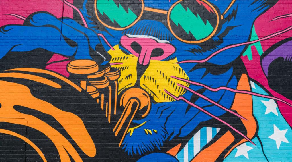 À Las Vegas, un festival de street art et musique revitalise un quartier en perdition
