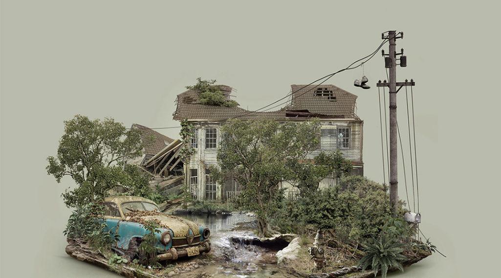 À la découverte des mondes abandonnés et 100% numériques de Fabio Araujo