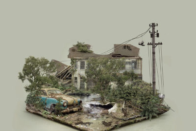 FabioAraujo-island-abandonnedplaces-explorationurbaine-graphicdesign-radar-graffiti-maison