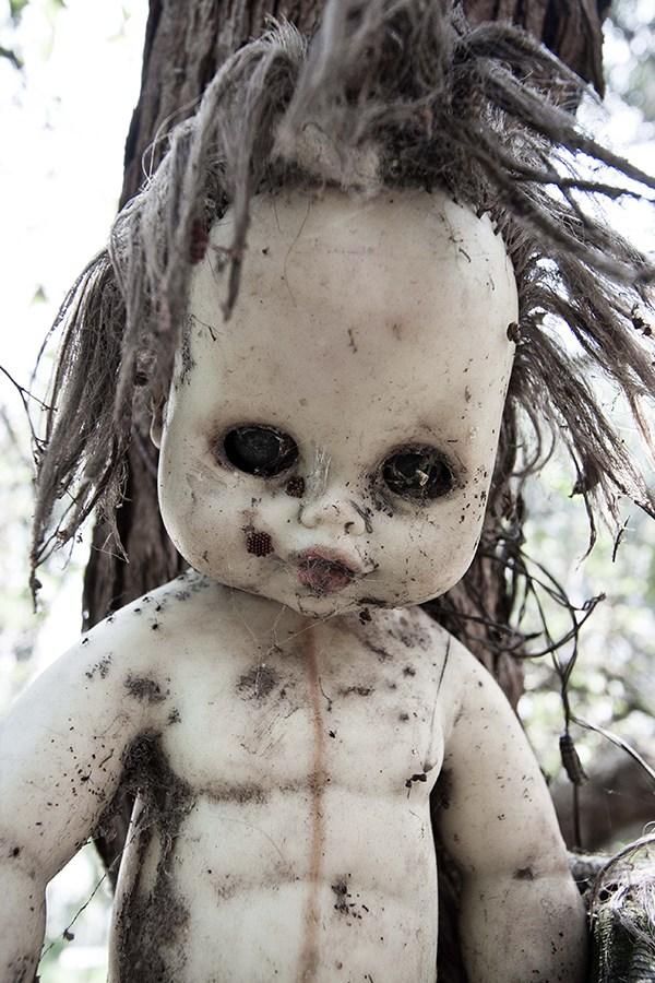 IsladelasMunecas nssr21 lileauxpoupees urbex halloween effrayant araignee - L'Île des poupées, l'un des lieux abandonnés les plus effrayants au monde