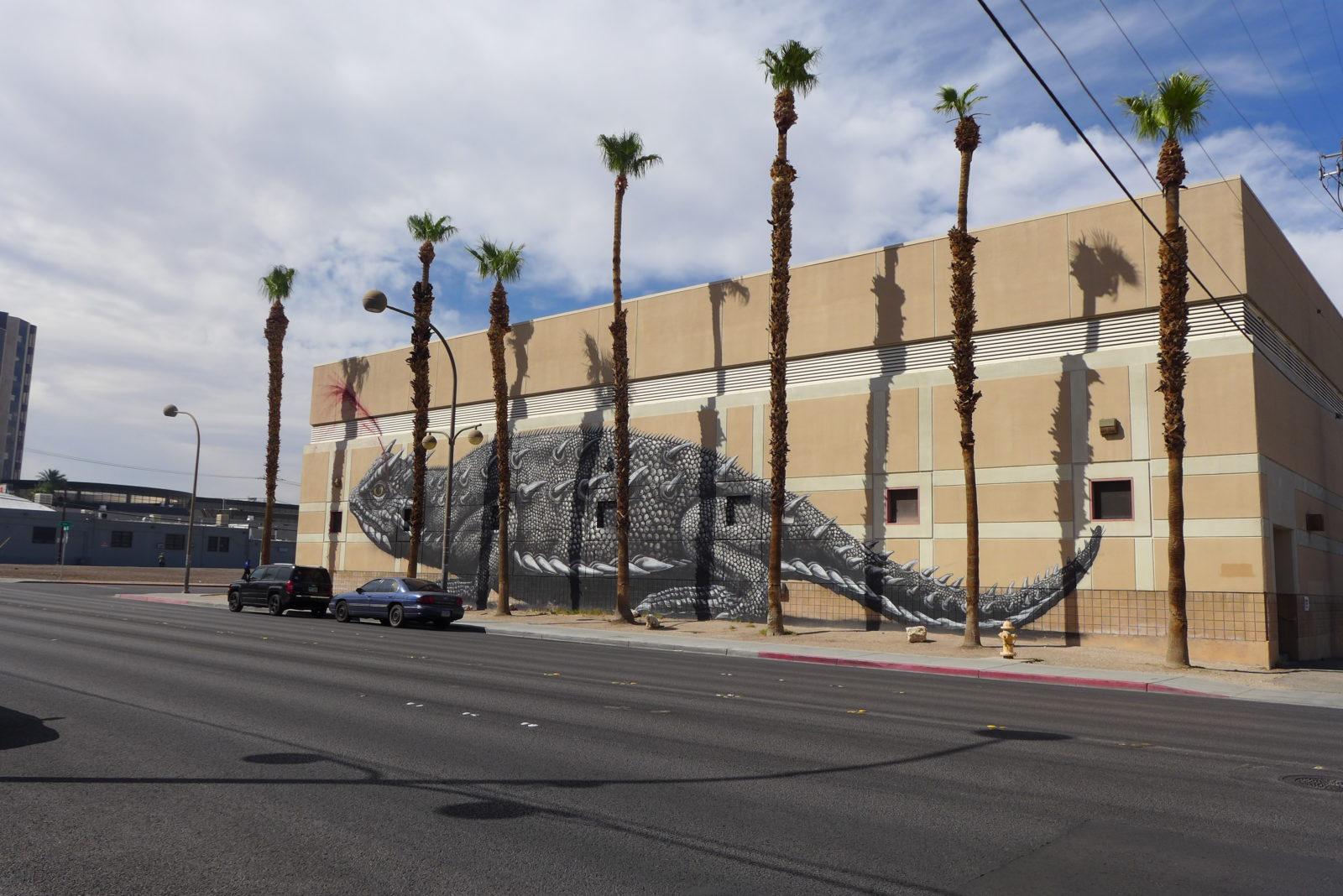 arturbain lasvegas street art murals radar graffitiROA - À Las Vegas, un festival de street art et musique revitalise un quartier en perdition