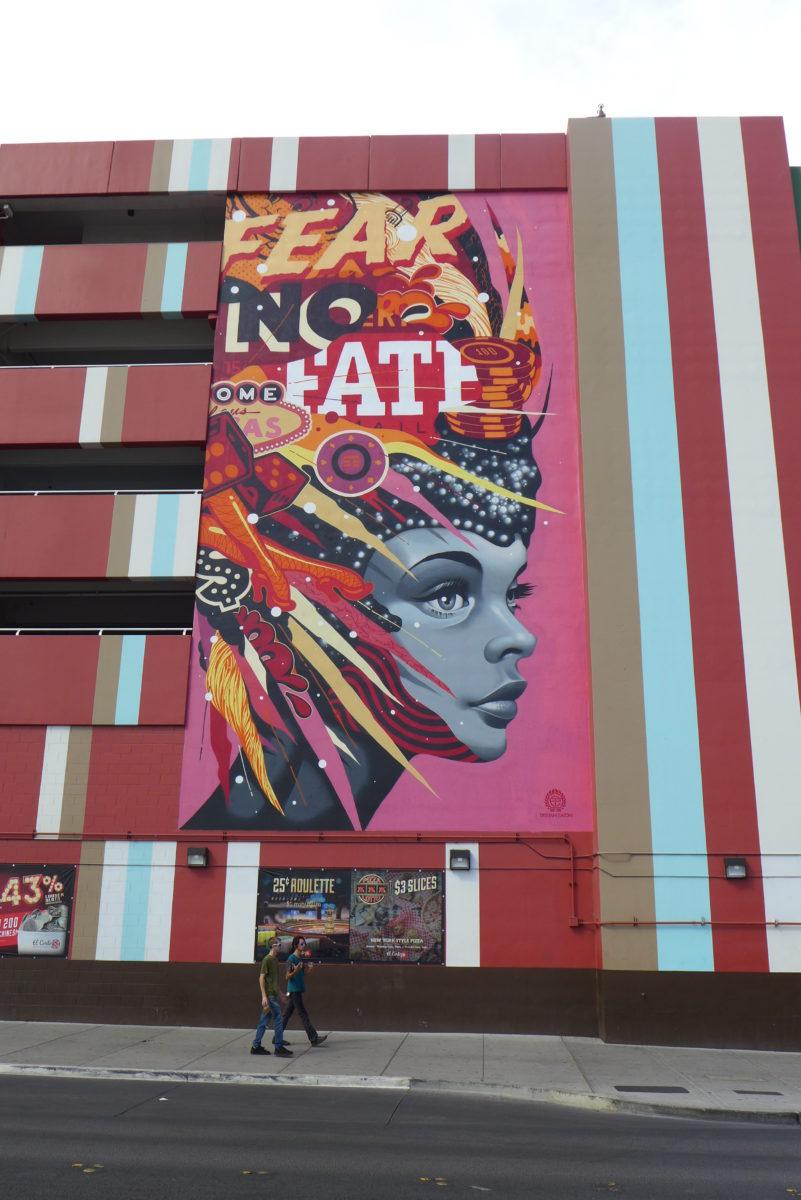 arturbain lasvegas street art murals radar graffitiTristan Eaton - À Las Vegas, un festival de street art et musique revitalise un quartier en perdition