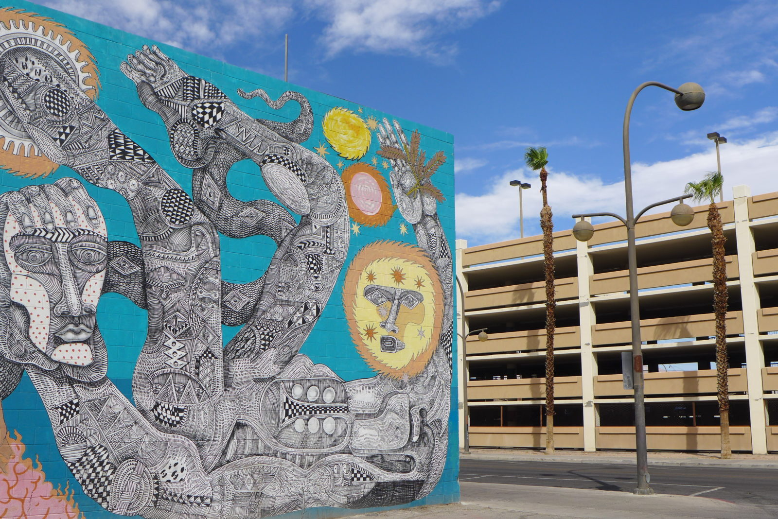 arturbain lasvegas street art murals radar graffitiZio Ziegler - À Las Vegas, un festival de street art et musique revitalise un quartier en perdition