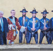 Macron, Trump,… le street artiste...