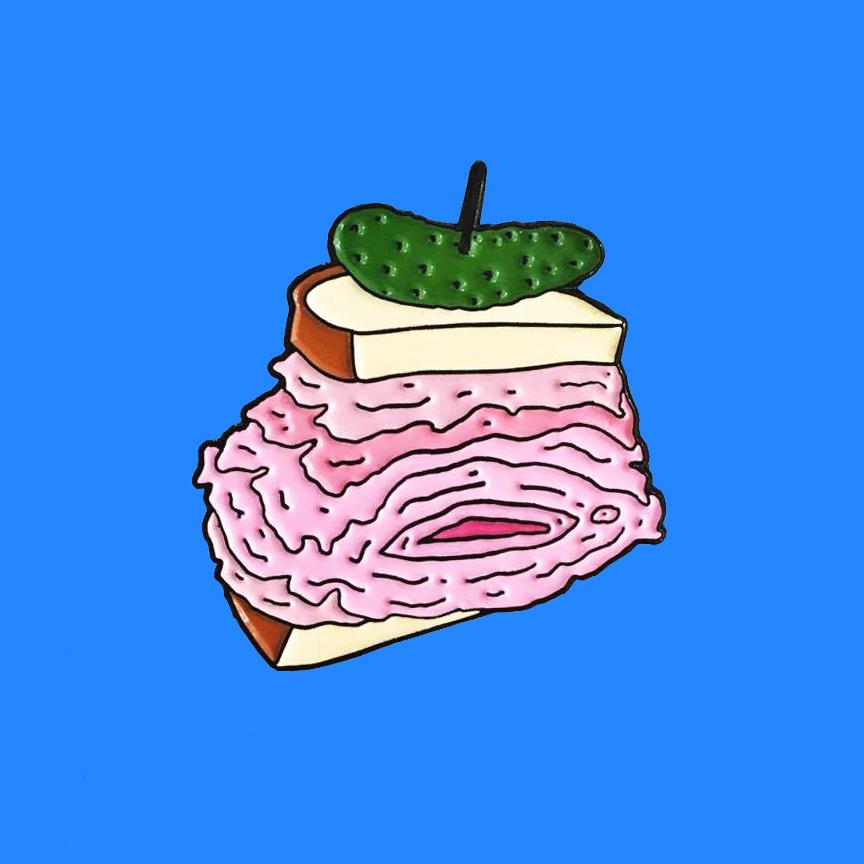 Pony illustration montreal pins thug clubsandwich vagina cornichon - Pony, des illustrations délurées qui flirtent avec la culture street