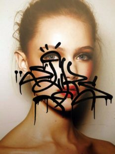 "Sliks exposition groundeffect streetart calligraphie portrait graffiti 232x309 - ""PULSO"" by SLIKS, #EXPO"