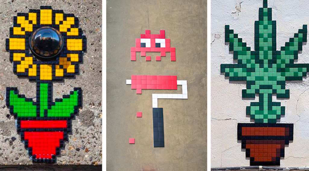 Invader : l'invasion pixel art continue !