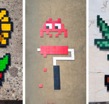 Invader : l'invasion pixel art...