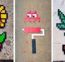 Invader : l'invasion pixel art...