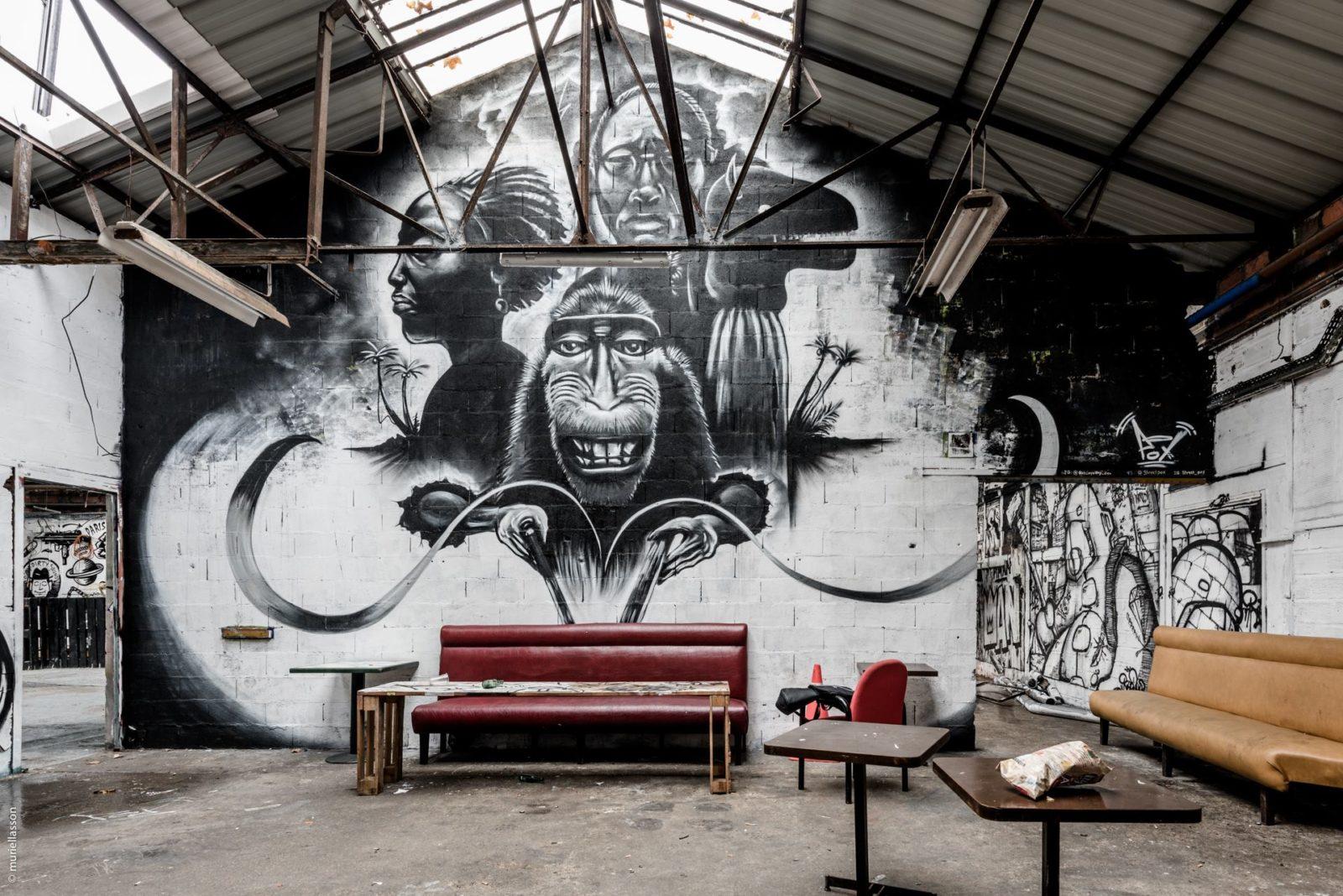 lendroit en153droit asniere goodirtysound GDS graffiti squat underground tags - Goodirtysound, le collectif qui secoue les nuits parisiennes, recherche un nouveau spot !