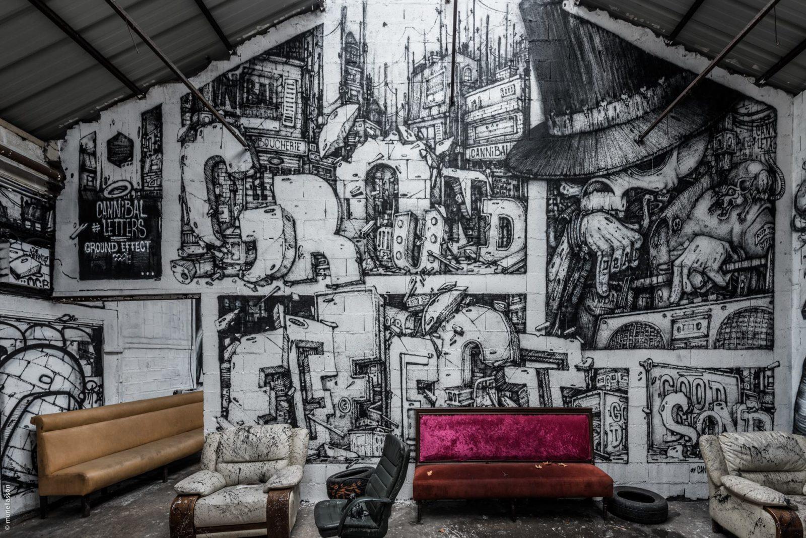 lendroit en153droit asniere goodirtysound GDS graffiti squat underground - Goodirtysound, le collectif qui secoue les nuits parisiennes, recherche un nouveau spot !