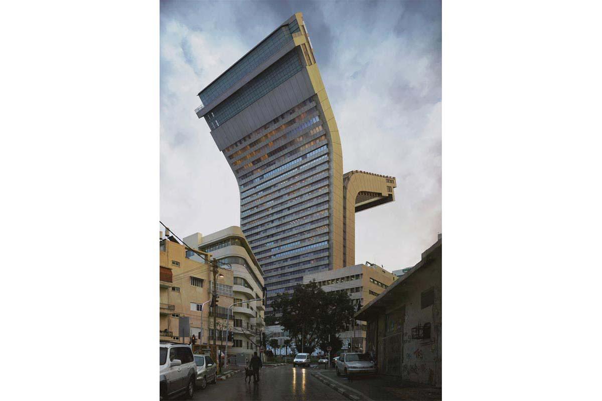 victorenrich architecture illustration 3d illusion photographie 44 - Victor Einrich, le photographe qui fait léviter les immeubles et renverse la ville