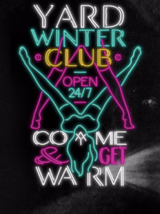 yard winterclub machinedumoulinrouge neon soiree paris 232x309 - Yard Winter club, #party