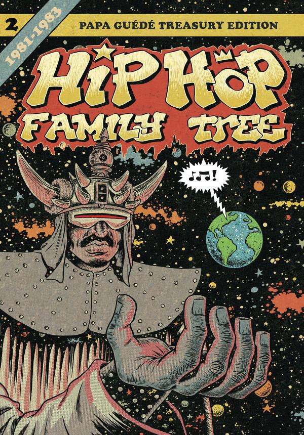 HipHopFamilyTree bandedessinee comics edpiskor noel 2018 cadeau RADAR dessin - 7 idées de cadeaux cools à offrir à Noël aux amateurs de musiques urbaines