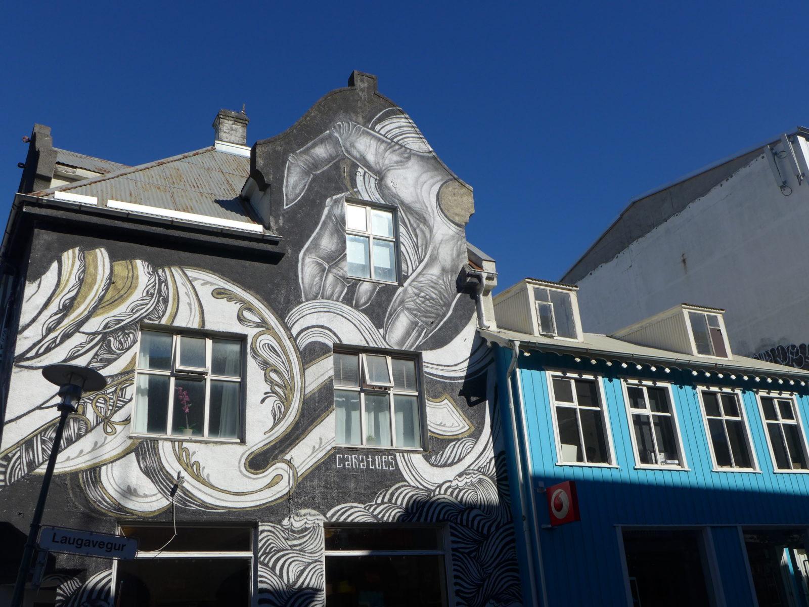 caratoes ylja street art islande reykjavik wall poetry - Focus sur Reykjavik : la capitale de l'Islande s'ouvre au street art !