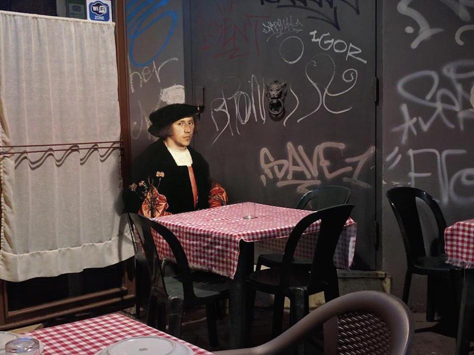 collage detournement instagram ville urbain graffiti tableaux peintures artclassique creatif AlexeyKondakov1701 - Les héros classiques squattent l'espace urbain grâce aux collages d'Alexey Kondakov