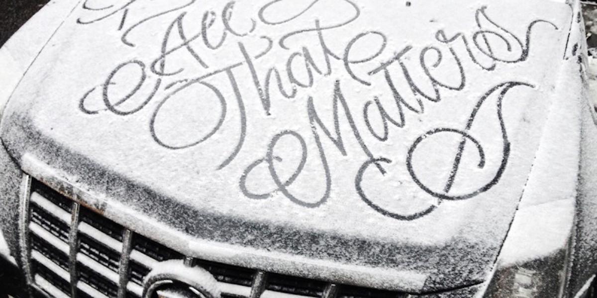 neige hiver creativite RADAR artistes snow art Faust - À la montagne comme à la ville, ces artistes transforment la neige en véritables œuvres d'art