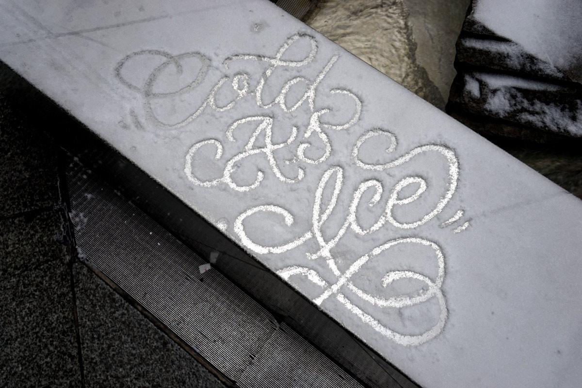 neige hiver creativite RADAR artistes snow art faust 3 - À la montagne comme à la ville, ces artistes transforment la neige en véritables œuvres d'art