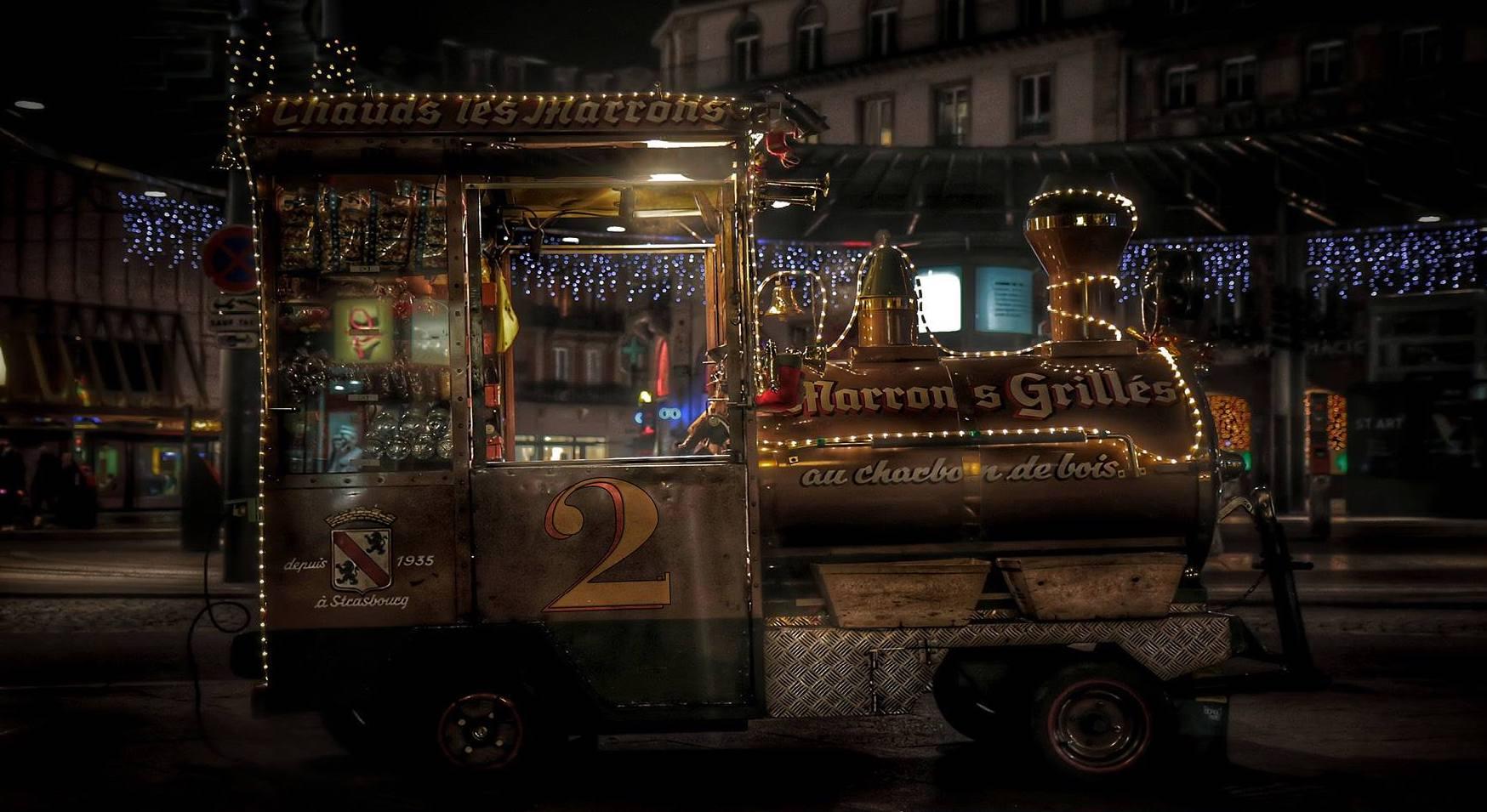 strasbourg art urbain creatif RADAR immeuble facade noel calendrier de lavent le reveur dimages - À Strasbourg, un calendrier de l'Avent version street art s'affiche sur un immeuble