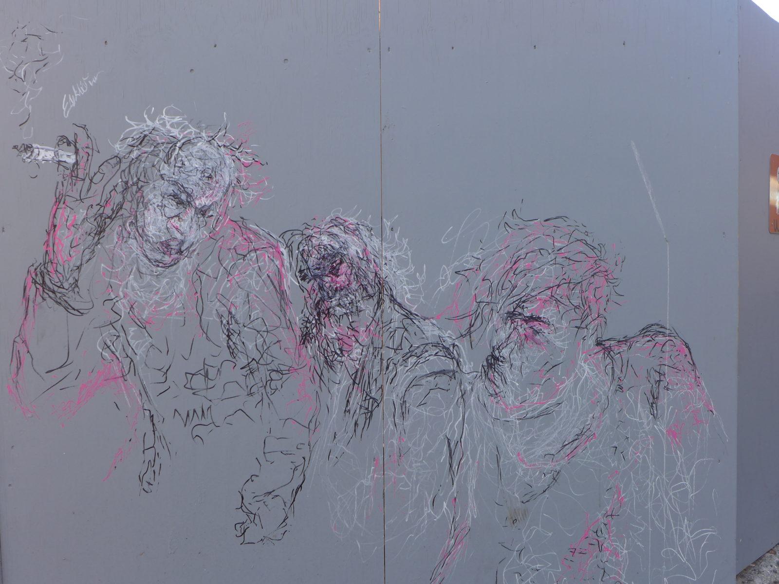 street art reykjavik islande chantier portraits - Focus sur Reykjavik : la capitale de l'Islande s'ouvre au street art !