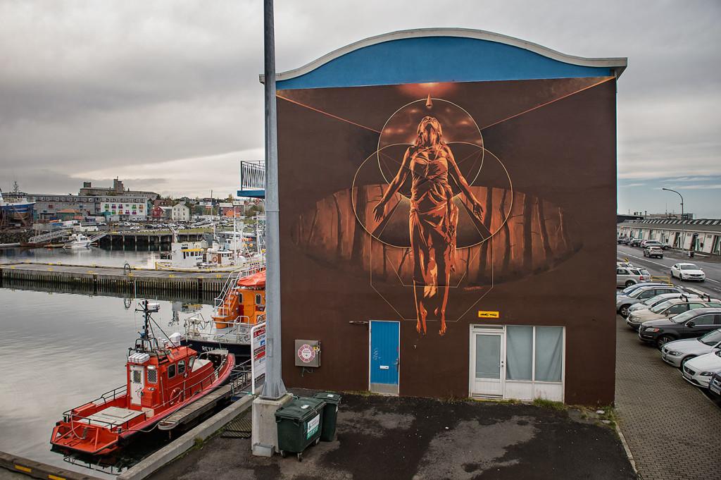 tankpetrol gusgus street art islande reykjavik wall poetry futuriste - Focus sur Reykjavik : la capitale de l'Islande s'ouvre au street art !