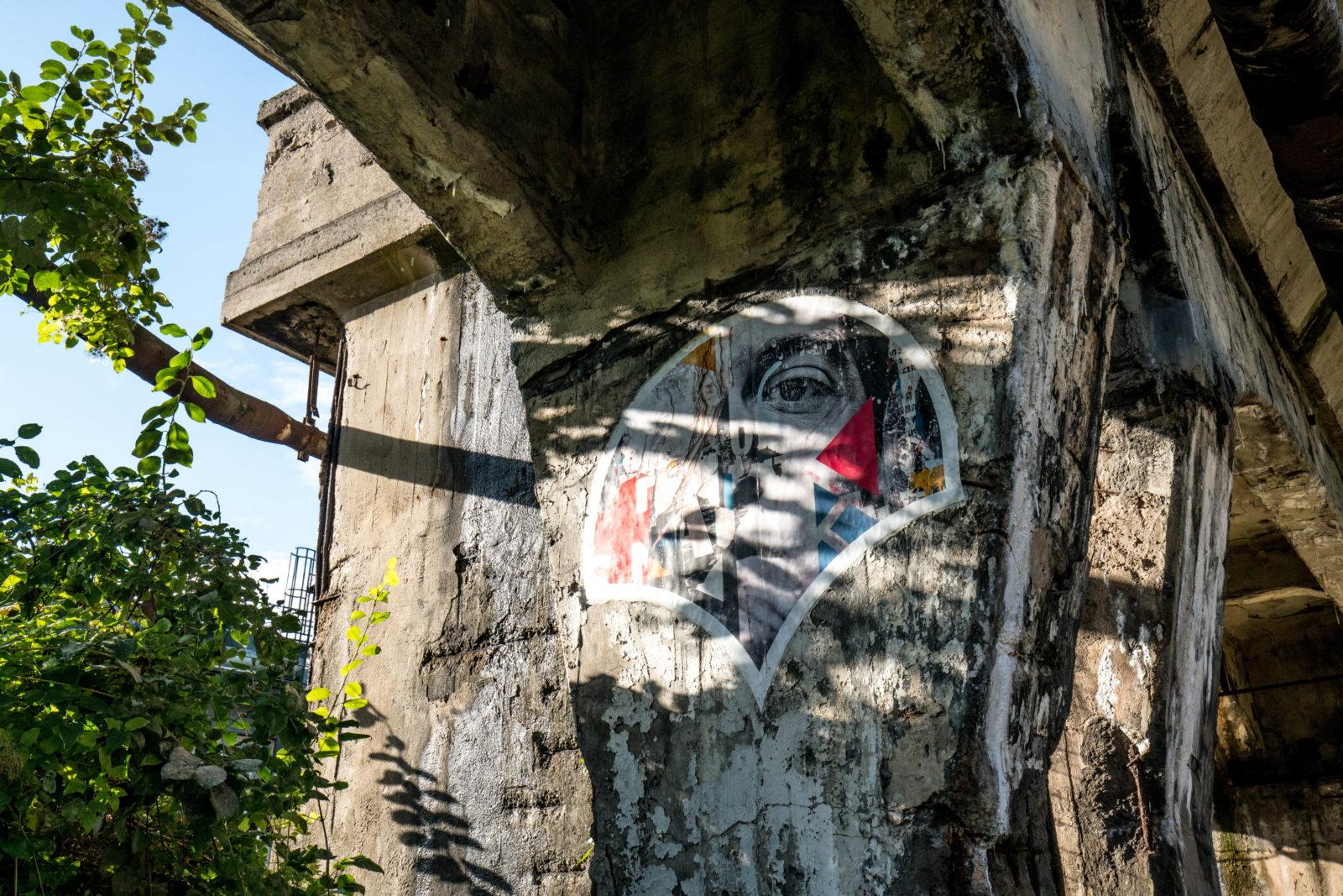 urbex explorationurbaine Volklingen usine abandonnee RADAR FrancsColleurs video tournage DSC01531 - Exploration en réalité augmentée de l'usine de Völklingen et des gouttes Francs Colleurs