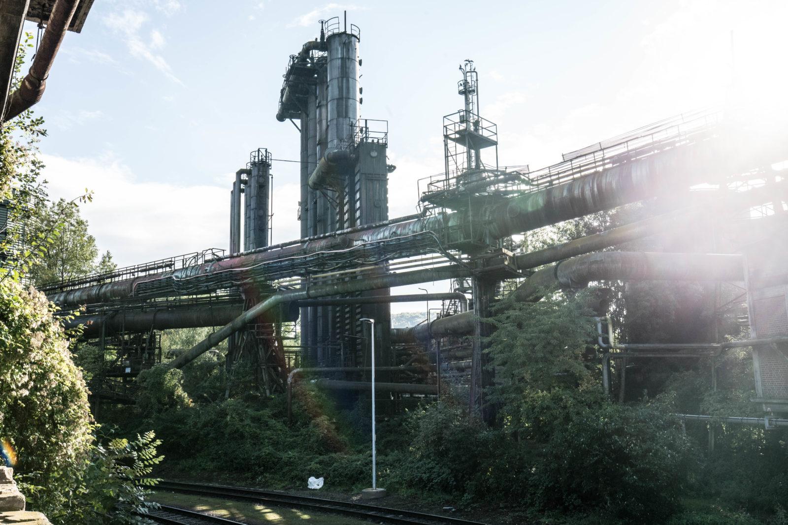 urbex explorationurbaine Volklingen usine abandonnee RADAR FrancsColleurs video tournage DSC01532 - Exploration en réalité augmentée de l'usine de Völklingen et des gouttes Francs Colleurs