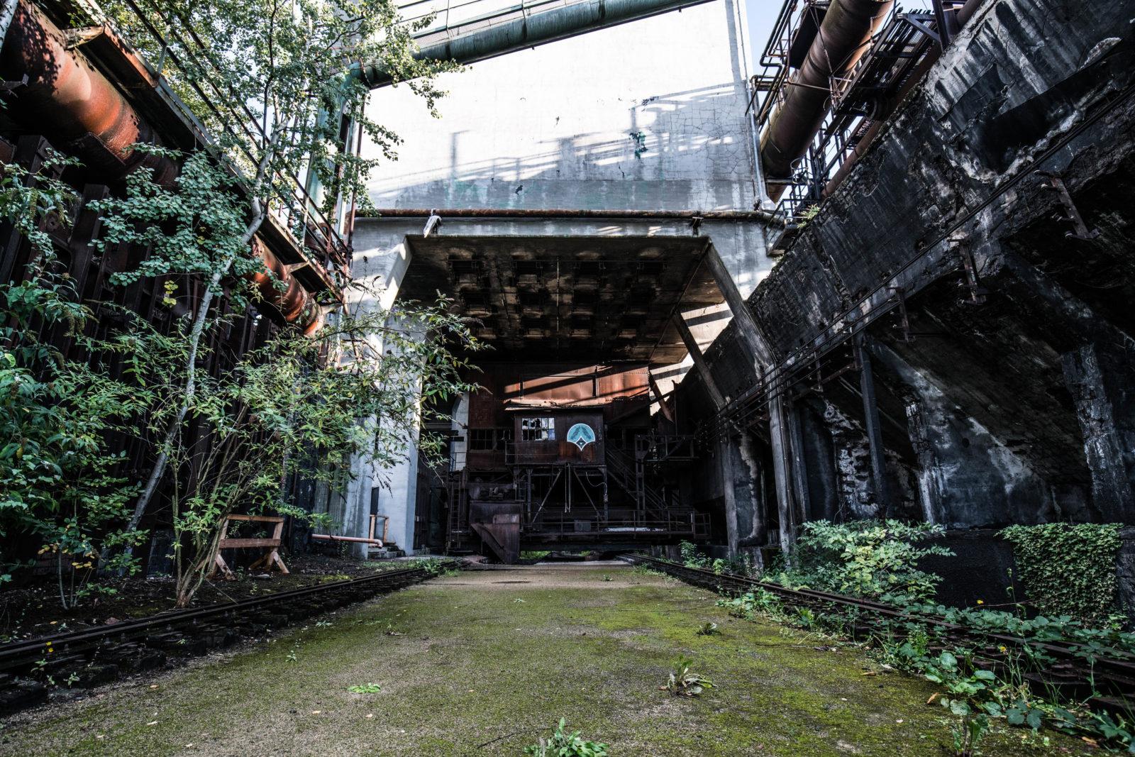urbex explorationurbaine Volklingen usine abandonnee RADAR FrancsColleurs video tournage DSC01548 2 - Exploration en réalité augmentée de l'usine de Völklingen et des gouttes Francs Colleurs